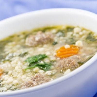 **Slow Cooker Italian Wedding Soup