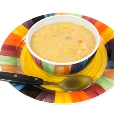 **Slow Cooker Mexican Potato Corn Chowder