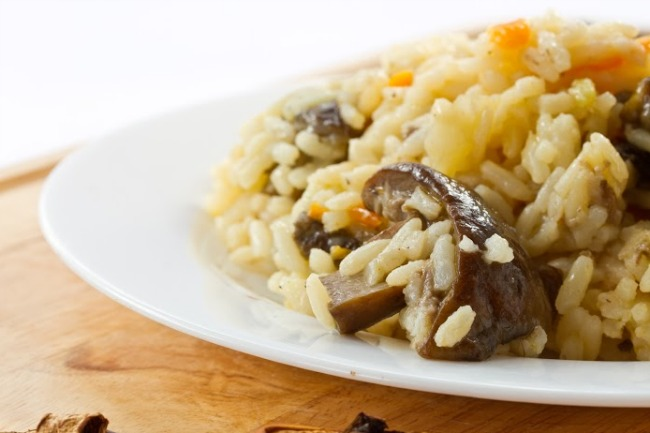 **Slow Cooker Mushroom Wild Rice