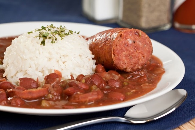 **Slow Cooker Red Beans and Rice