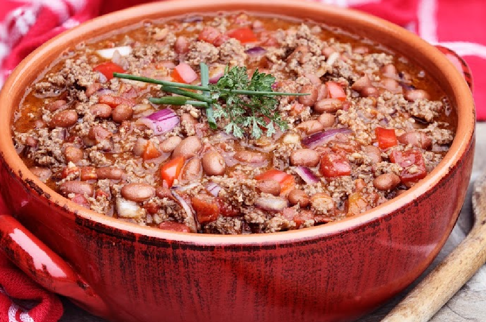 Slow Cooker Chili Con Carne