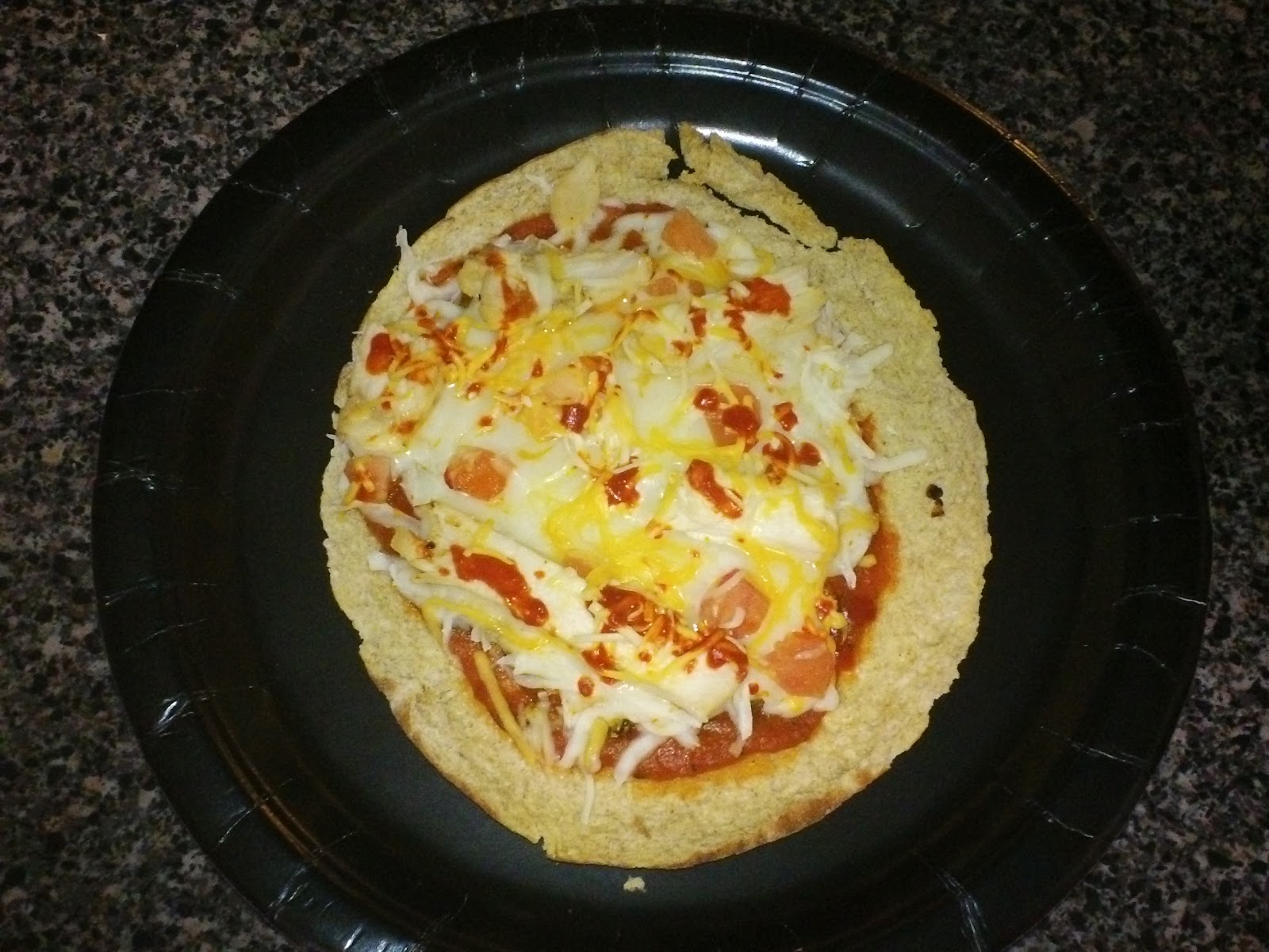 Crock Pot Buffalo Chicken Pizza