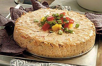 Crock Pot Salsa Cheesecake