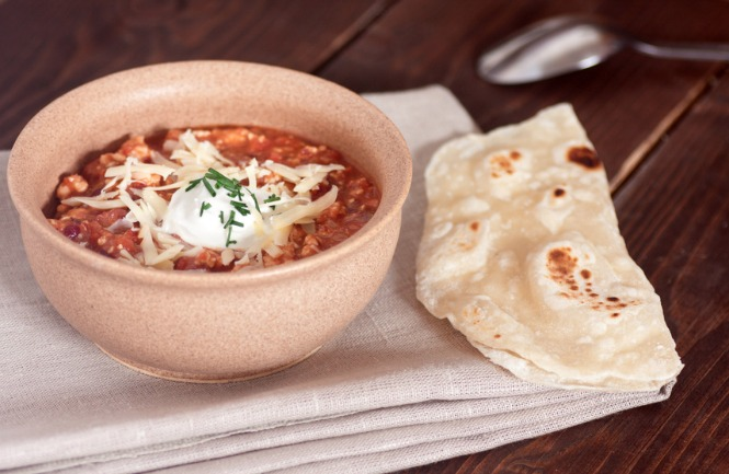 Slow Cooker Pizza Chili **