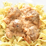 **Slow Cooker Swedish Meatballs