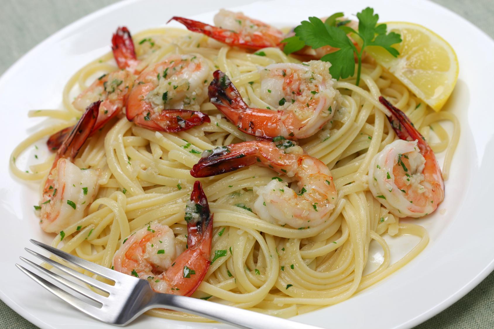 **Slow Cooker Shrimp Scampi