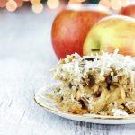 **Slow Cooker Apple Coconut Crisp