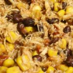 Crock Pot Creamy Black Bean Salsa Chicken