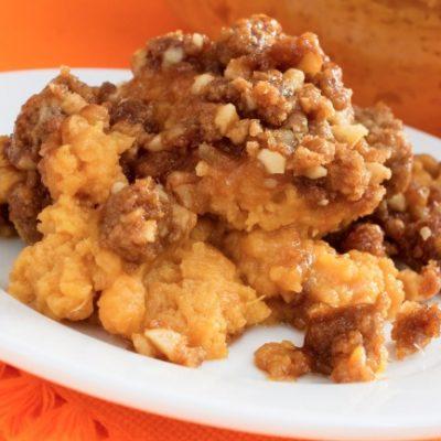 **Slow Cooker Sweet Potato Casserole