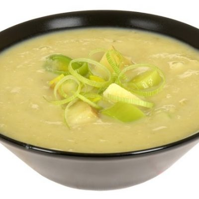 Slow Cooker Potato and Leek Soup **