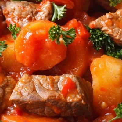 **Slow Cooker Make Ahead Beef Stew