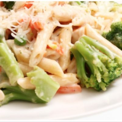 **Slow Cooker Chicken, Broccoli and Pasta