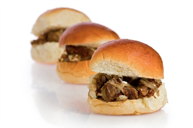 Slow Cooker Roast Beef Slider **