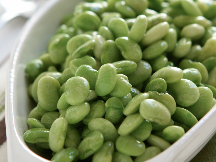 Slow Cooker Lima Beans * *