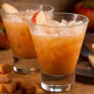 **Slow Cooker Caramel Apple Cider
