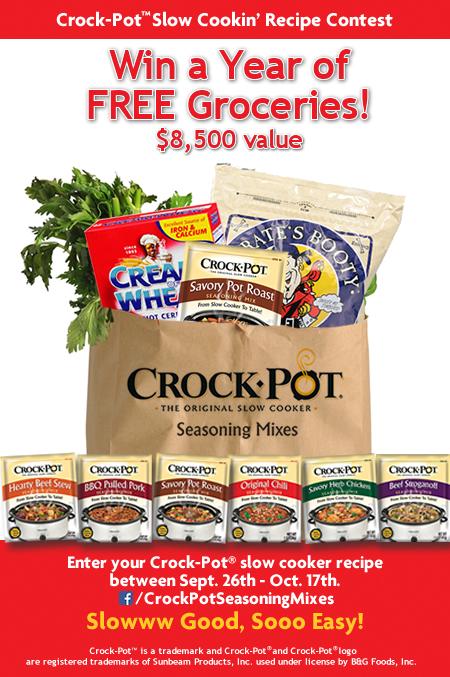 Crock-Pot Seasonings Contest