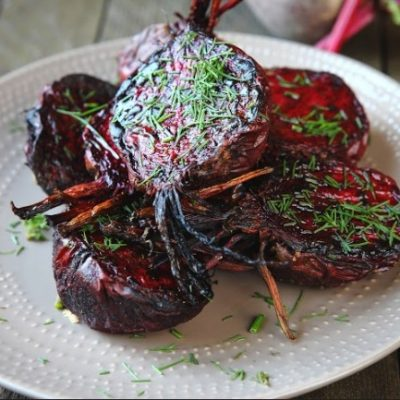 **Slow Cooker Roasted Beets