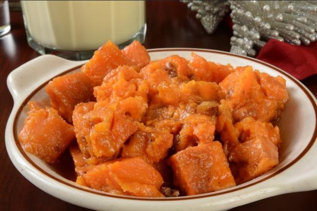 **Slow Cooker Sweet Brown Sugar Potatoes
