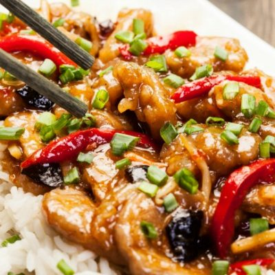 **Slow Cooker Sweet and Sour Pork