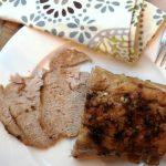 Crock Pot Paleo Cinnamon Pork Loin with Root Vegetables