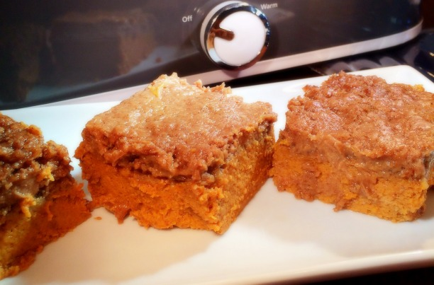 Slow Cooker Pumpkin Dump Cake***