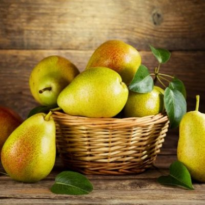 **Slow Cooker Apple Cider Pears