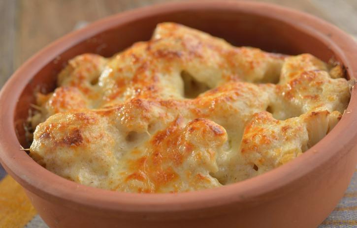 **Slow Cooker Cheesy Cauliflower