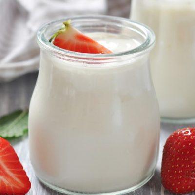 **Slow Cooker Creamy Yogurt