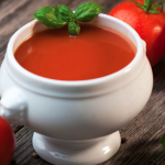 Slow Cooker Fire Roasted Tomato Soup * *