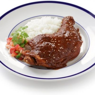 **Slow Cooker GF Chicken Mole