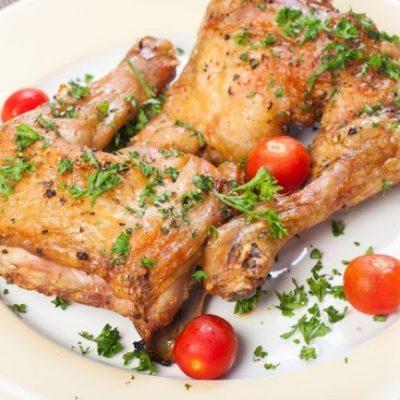 **Slow Cooker Garlic Chicken
