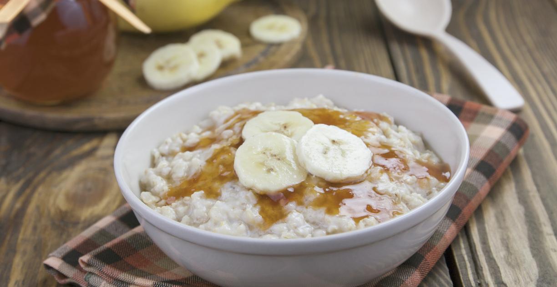 **Slow Cooker Gluten-Free Peanut Butter Banana Oatmeal