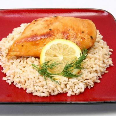 **Slow Cooker Lemonade Chicken