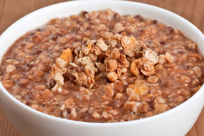 **Slow Cooker Mapel Hazelnut Oatmeal