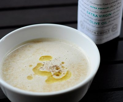 Slow Cooker Paleo Apple and Parsnip Soup