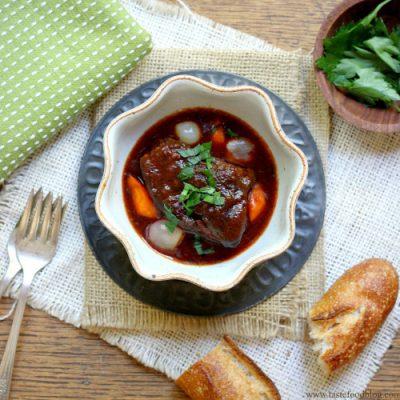 Paleo Beef and Carrot Ragu