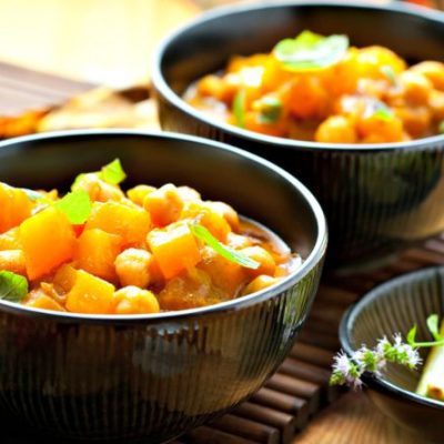 ** Slow Cooker Chickpea Chili