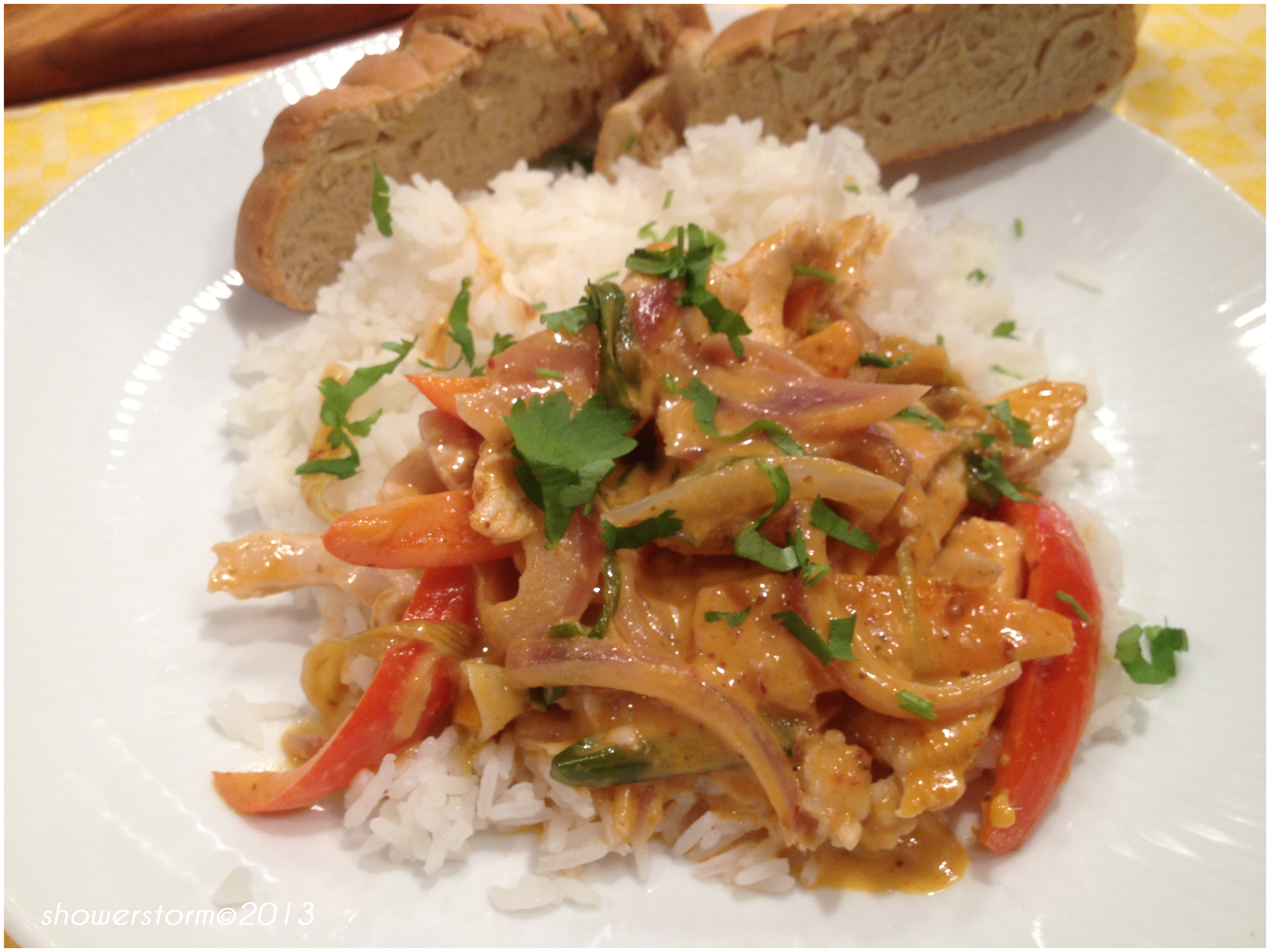 Slow Cooker Thai Coconut Curry
