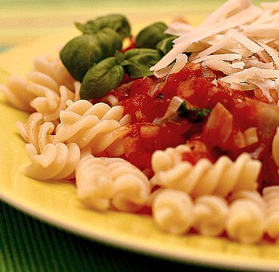 Zucchini and Tomato Pasta Sauce