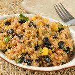 **G-F Slow Cooker black beans and quinoa