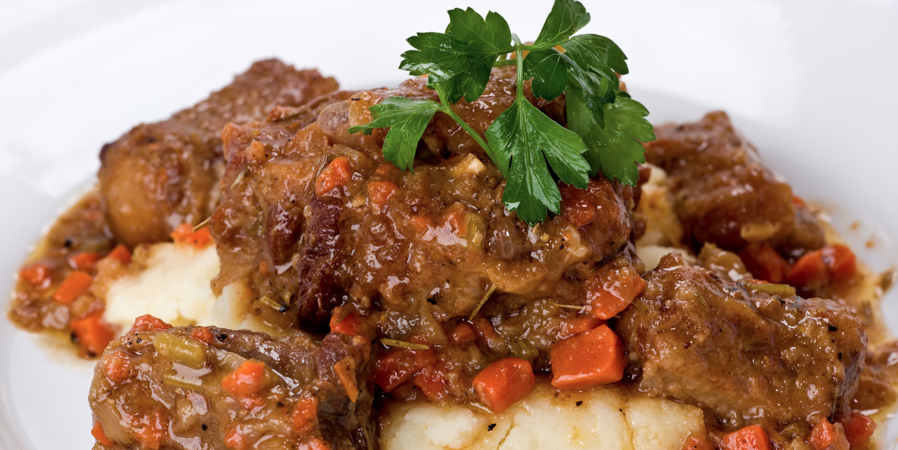 Slow Cooker Paleo Island Oxtail * *