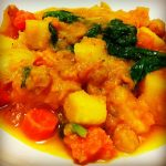 Slow Cooker Paleo Pumpkin and Kale Stew