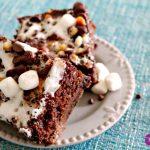 **Slow Cooker Rocky Road Gooey Cake