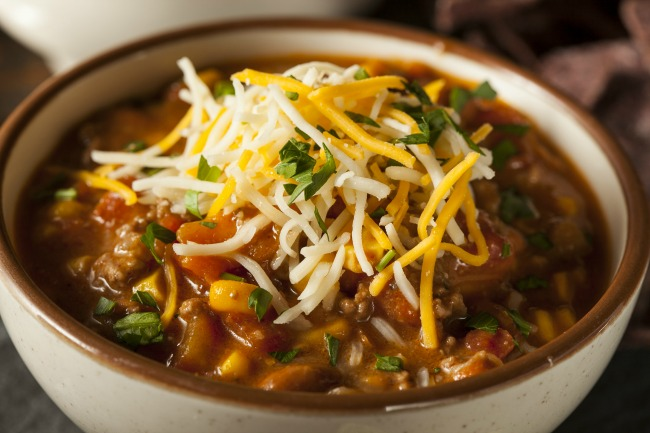 Slow Cooker Southwest Turkey Chili * *