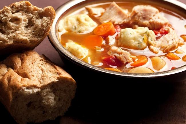 **Slow Cooker Savory Turkey and Dumplings