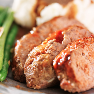 **Slow Cooker Cheesy Meatloaf