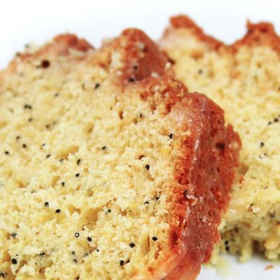 Slow Cooker Lemon Poppy Seed Bread * *