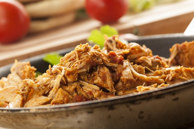 **Slow Cooker Mexican Shredded Pork