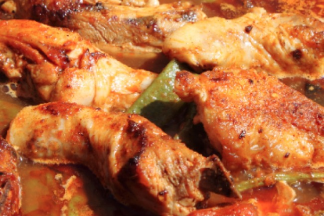 **Slow Cooker Spicy Chicken Creole