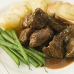 Steak in the slow cooker